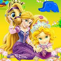 Baby Rapunzel Garden Decoration