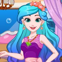 Ariel Pastel Ombre Hair