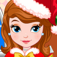 Princess Sofia Christmas Dressup