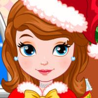 Princess Sofia Christmas Dressup