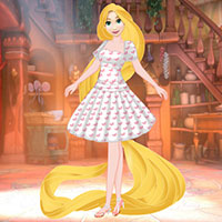 Rapunzel Magic Dress