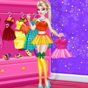 Elsa Dress Designer
