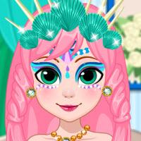 Mermaid Face Painting Design