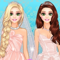 rapunzel blush bride