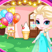 Elsa's Ice Cream Shop