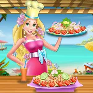 Rapunzel Chicken and Broccoli Alfredo