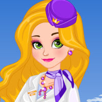 Stewardess Rapunzel