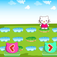 Hello Kitty Raining Puzzle