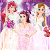 Princess Belle Gorgeous Ball Dress Up