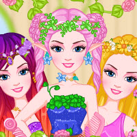 Barbara Fairy Princess Hairstyles