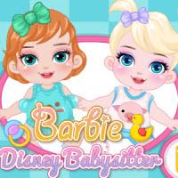 Barbie Disney Babysitter