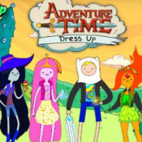 Adventure Time Dress Up Game-h5