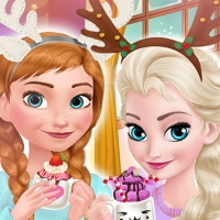 Frozen Sisters Cozy Time