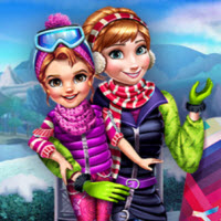 Winter Games Dressup