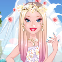 Barbie Cherry Blossom Wedding