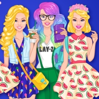 Barbie Weekend Outfit HTML5