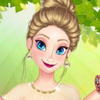 Princess Spring Model Challenge (HTML5)