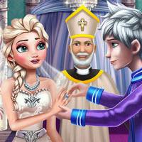 Frozen Wedding Ceremony