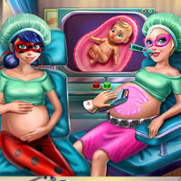 Hero BFFs Pregnant Check-up