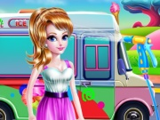 girly ice cream truck car wash