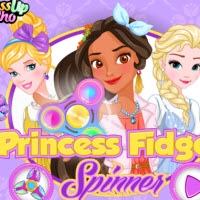 Princess Fidget Spinners