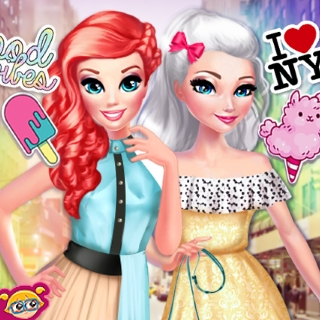 Princesses BFFs In New York