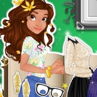 Moana The New Girl In School