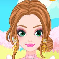 Princess Spring Fling Makeup