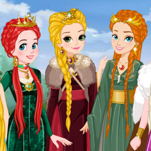 Princess of Thrones Dress up